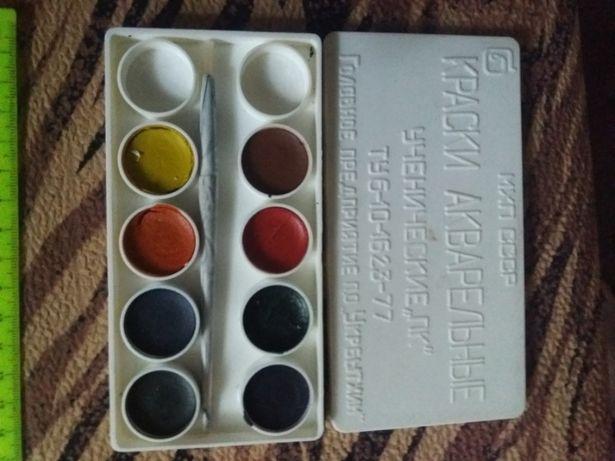 Краски школьные акварельные