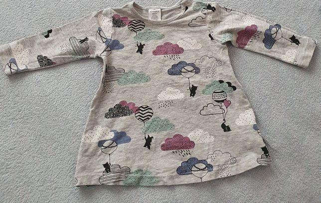 Lindex baby bluzeczke  bluzka tunika 68