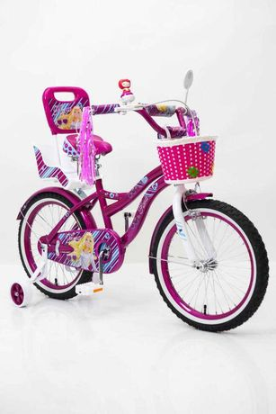 - Велосипед для девочки Flora- 18 дюймов