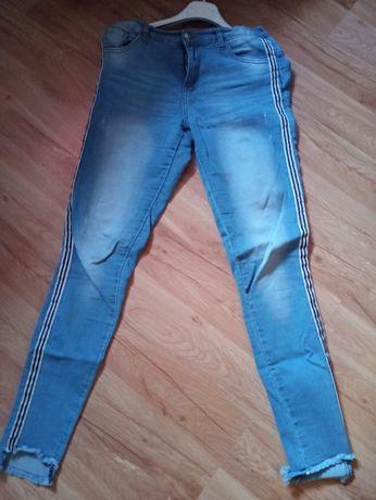 Spodnie.jeansy młodzieżowe rozm.164