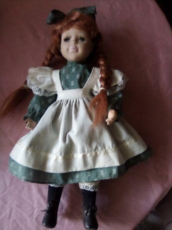 Винтажная фарфоровая кукла