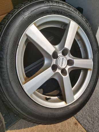 Opony Semperit 215x55x R17 od Subaru Outback