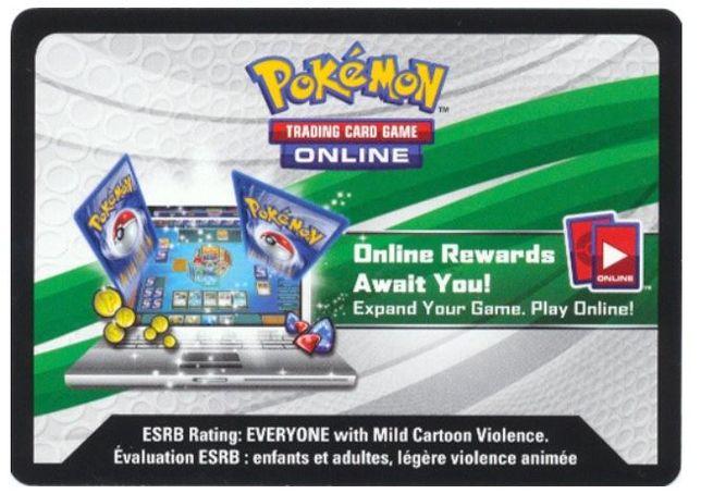 Karta z kodem Pokemon TCG Bewear-GX Box