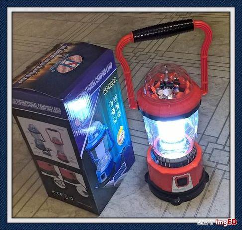 Latarnia/Lampę Campingową lub Disco Lamp