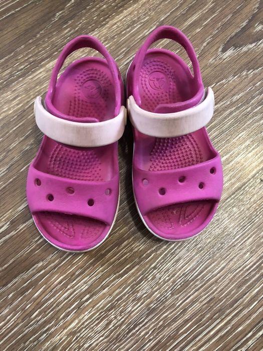 Кроксы crocs c7, оригинал, босоножки резиновые Новая Каховка - изображение 1