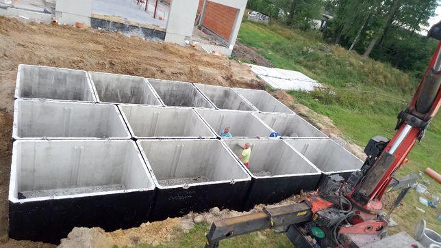 Szambo szamba betonowe zbiorniki Kraków, Miechów, Olkusz, Wieliczka