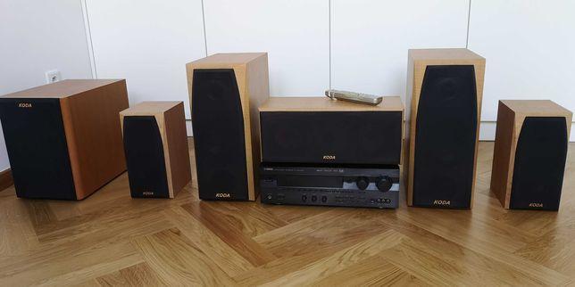 Zestaw kina domowego 5.1 Yamaha RX-V595aRDS + Koda