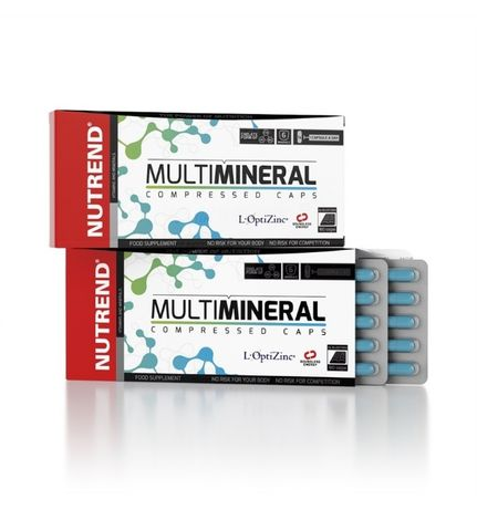 NUTREND MultiMineral Compressed 60 Caps.
