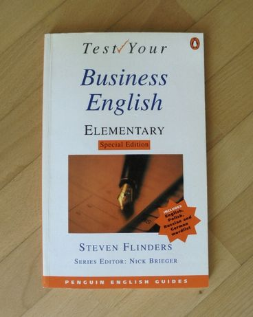 Test your Business English Elementary S. Flinders