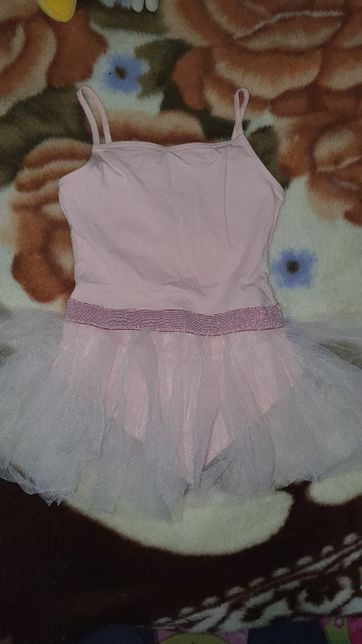 Купальник с юбочкой для бальных танцев