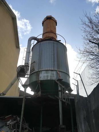 Aspirador de aparas com silo - marca Ventil