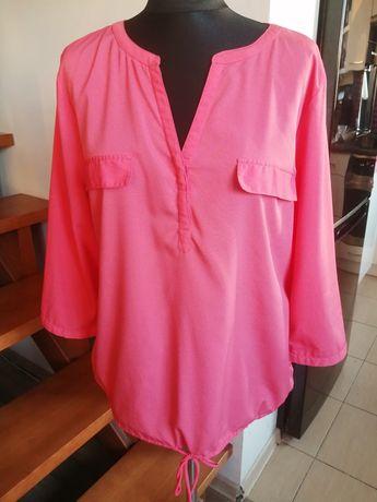 Bluzka, koszula letnia, malinowa, Nowa, Greipoint rozm. 42
