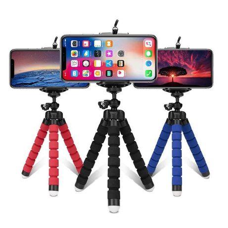 Mini tripé flexível para telemóvel / máquina fotográfica NOVO