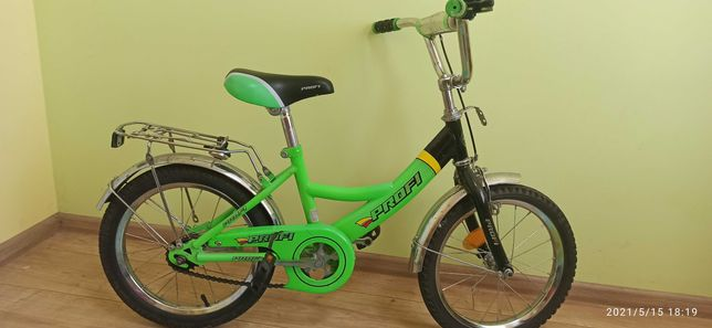 "Profi велосипед на 4-6лет, колеса 16"""