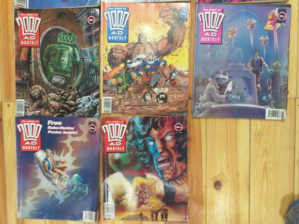 The Best of 2000AD Monthly 5 numeów 92