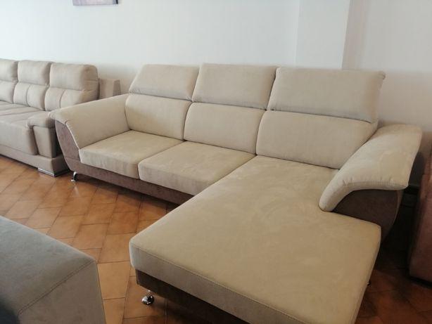Sofá Cannes com 270 cm, novo de fábrica