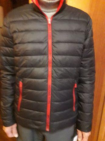 Мужская куртка черного цвета 48 р. Michael Kors