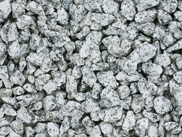 Grys Granitowy Szary Kamień Ogrodowy Ozdobny 8-32mm 25kg