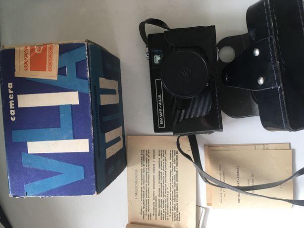 Фотоапарат Вилия 1977г., штатив