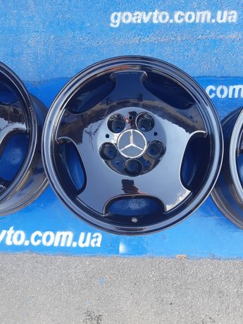 GOAUTO комплект дисков Mercedes-Benz 5/112 r16 et41 7.5j dia66.6 чёрны