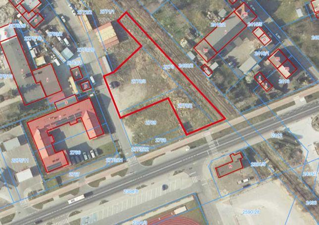 Wynajmę działkę Śrem ul Rzemieślnicza 2500 m2 przy drodze wojewódzkiej