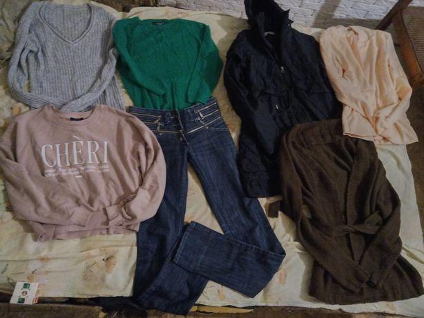 Вещи на девочку лотом 11-13 лет