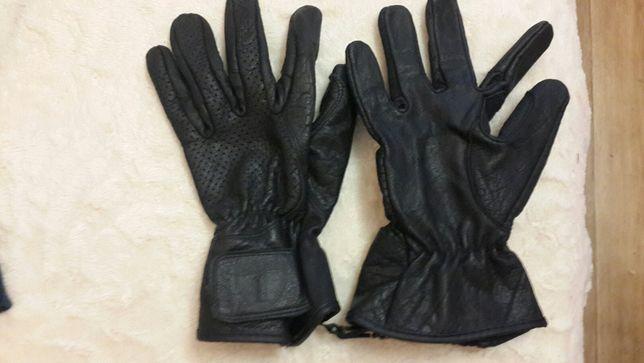 Мото перчатки кожанные. новые.