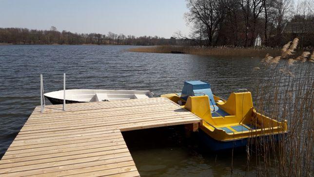Wolne 16-23 Lipiec Domek pomost rower wodny