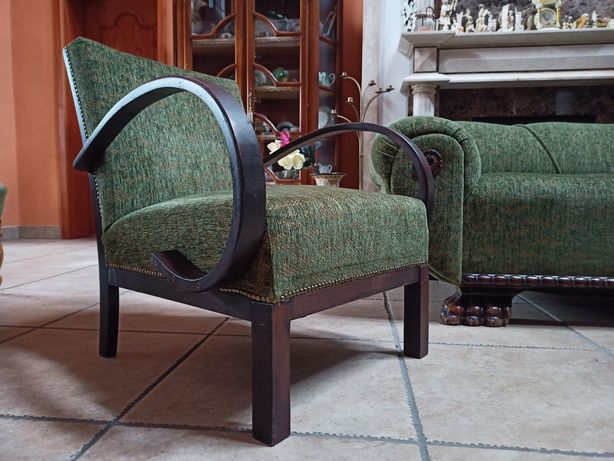 Fotel PRL Halabala 2 szt