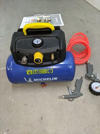 Compressor sem óleo  MICHELIN MBL6/1100 6L  + Acessórios