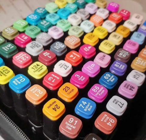 Скетч маркеры Touch Sketch, наборы 60, 80 шт.