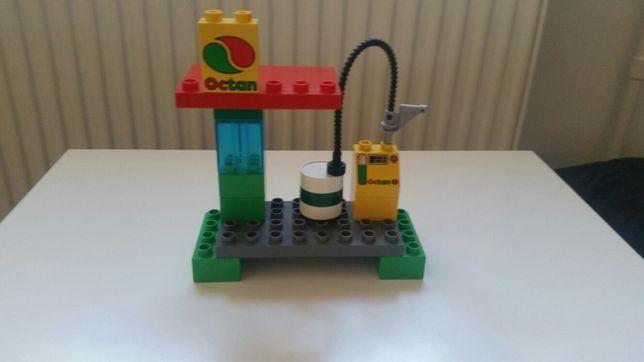 Lego duplo stacja paliw cpn pociąg kolejka 5609