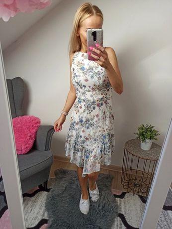 Sukienka w kwiaty ORSAY rozmiar XS