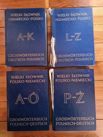 Wielki słownik polsko-niemiecki i niemiecko-polski 1980