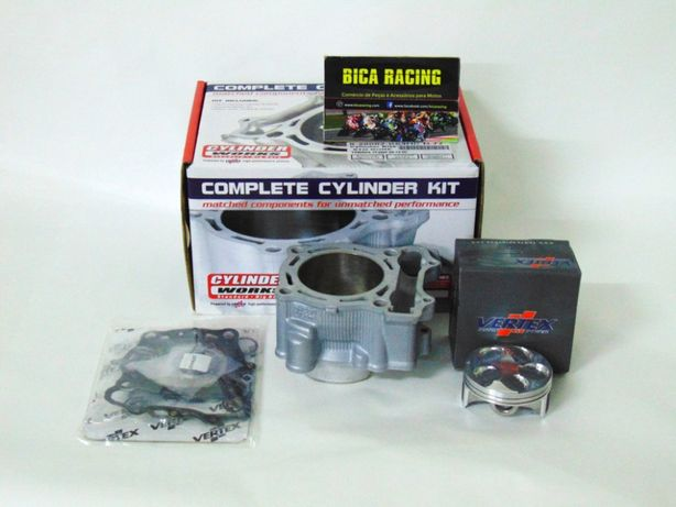 Kit completo cilindro + piston e juntas Cylinder Works e Vertex YZ250F