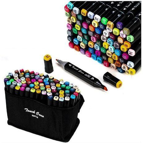 Набор скетч маркеров для рисования Touch Raven 24, 36, 48, 60, 80 шт