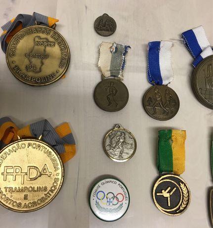 Conjunto de Medalhas Desportivas