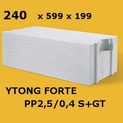 Ytong Forte 24 kl.400 beton komórkowy