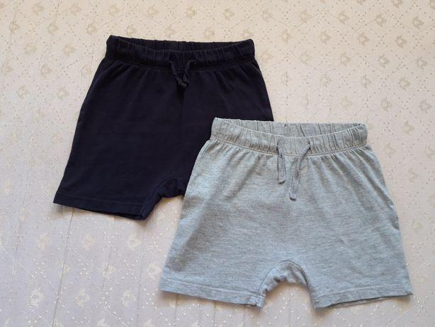 Krótkie spodenki szorty H&M chłopiec rozmiar 86