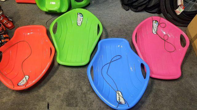 Sanki ślizg big m plastikowe kolory nowy wysyłka