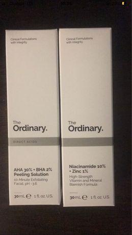 Zestaw the ordinary serum niacynamid i peeling kwasowy