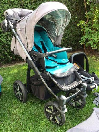 Wózek Baby Design Husky 2w1 + winterpack - pierwszy własciciel