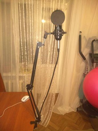 Комплект  : Микрофон , Пантограф , Поп-фильтр , Паук