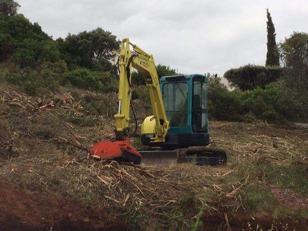 Limpeza e Desmatações de terrenos
