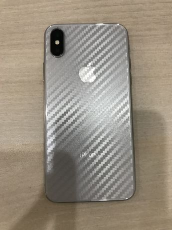 iPhone X Silver 256 gb