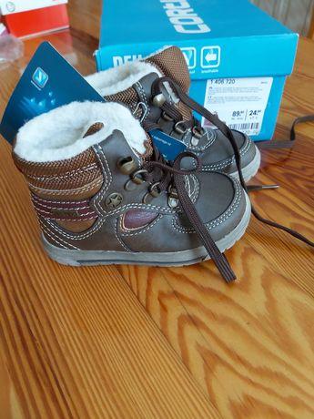 Nowe ocieplane buciki chłopięce