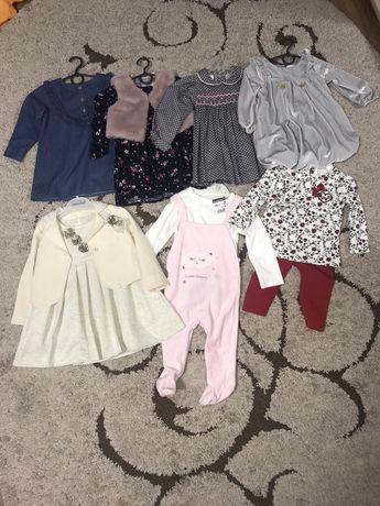 Платья, джинсы, бодики, лосины, шорты 0-1-2-3-4 года