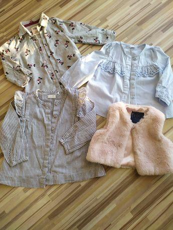 Дитячі блузки 1-2 рокі