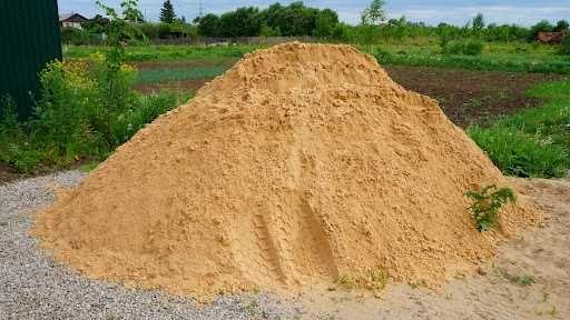 Песок речной намывной и подсыпка супесь и суглинок