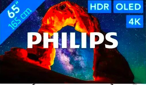 Philips OLED 65OLED803 4K Android HDR ambilight x3 Dolby Atmos VESA